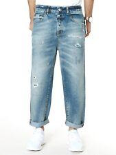 Jack & Jones Herren Relaxed Fit Jeans Hose |O Don | Knöchellang | W31