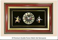 Clock frame Thai pattern Design Ramayana premium good for gift Decorated present