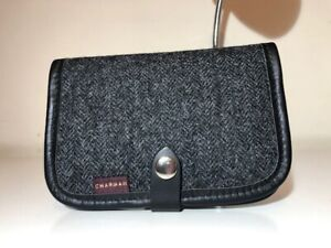 Chapman Tweed Leather Notebook Case Purse! New! Only £29.90!!!