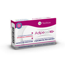 Fitobios Adipecal 45+ Favorisce l'Equilibrio Del Peso Corporeo 30 cpr