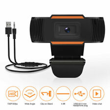 Generico 720p Webcam con Microfono Integrato per PC - Nera (8058265702957)