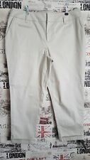 Jonathan Saunders Beige Natural Chinos Trousers size 16 UK NWT