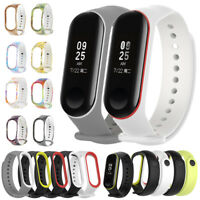Soft Silicone Watch Band Bracelet Wrist Strap Replacement for Xiaomi Mi Band 3