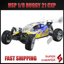 HSP RC Remote Control Car Camper 2.4Ghz 21cxp 1/8 Off Road Nitro Gas Buggy 94760