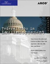 Federal Jobs in Law Enforcement 2nd ed Arco Paperback Book VeryGood