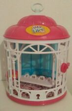 Little Live Pets Pink and White Bird Cage Cage Only