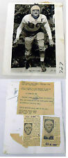 1941 Press Photo ~ MALCOLM JAMES KUTNER ~ Texas University Football