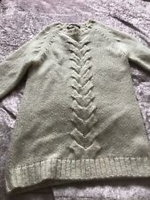 French Connection Chunky Long Jumper Size Large Great Condition Cream