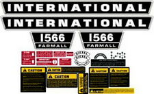 NEW 1566 INTERNATIONAL HARVESTER FARMALL TRACTOR COMPLETE DECAL KIT HIGH QUALITY
