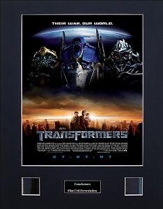 Transformers Version 2 Photo Film Cell Presentation