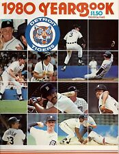Detroit Tigers Team Yearbook-1980.