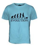 MINIATURE SCHNAUZER EVOLUTION OF MAN MENS T-SHIRT TEE TOP DOG GIFT WALKER
