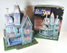 Puzz-3D 1994 Victorian House 700 Piece Puzzle Challenging Instructions Included