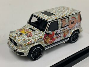 1/64 Motorhelix Mercedes Benz AMG G63 from 2019 Family Guy Version