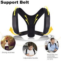 Back Posture Corrector Shoulder Straight Support Brace Belt Therapy Men Women bc