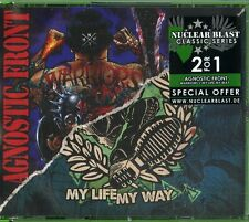 Agnostic Front - Warriors+My Life My Way   - 2 CD  Nuovo Sigillato