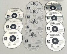 Final Fantasy VII VIII & IX *** Complete PlayStation 1 PS1 games 7 8 9 Classic