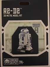 STAR WARS-GALAXY'S EDGE METAL EARTH DROID DEPOT R2-D2 3D METAL MODEL KIT