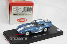 Kyosho 1:43 scale Shelby Cobra Daytona Coupe 1965 World Champion No.26 *RARE*