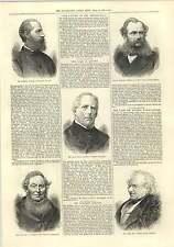 1875 David OSMENT i massoni Sir William jervois Onorevole ROGERS Intagliatrice