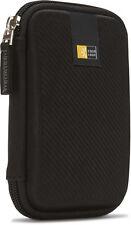 "Case Logic Portable Hard Drive Case EHDC-101 Black Shell 3.5"" Brand New"