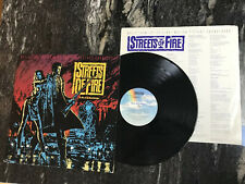"""street of fire soundtrack - a rock&roll fable 12"""" vinyl (mca-5492) (1984)"""