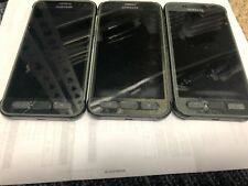 Samsung Galaxy S7 Active G891A 32GB Unlocked Smartphone Gold see Picture
