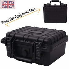 Durable Protective Equipment Case Black Sturdy Traveling Non-slip Handle