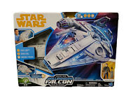 New Star Wars Force Link 2.0 Kessel Run Millennium Falcon Han Solo Figure JJ1