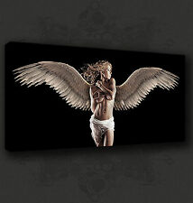 SEXY ANGEL GIRL NUDE SEXY MODERN CANVAS PRINT WALL ART PICTURE READY TO HANG