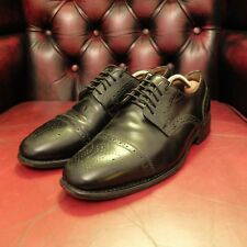 SAVILE ROW Co LONDON / George Webb Cap Toe Derby Oxford Brogue Shoes Size 7 UK.