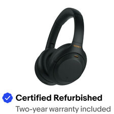 Sony WH-1000XM4 Wireless Noise-Cancelling Over-the-Ear Headphones - Black