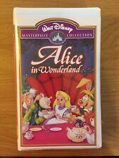 Alice in Wonderland (VHS, Masterpiece Collection, Clamshell) Disney