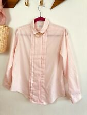 Lord & Taylor Pink Shirt. Women's. Long Sleeve. Tailoring. Career. Baby Pink.
