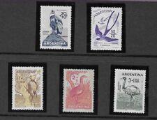 Argentina 1960 MM Child Welfare. Birds sg 964/8
