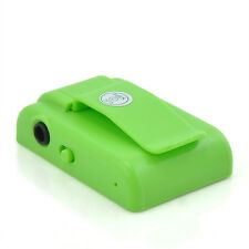 Green Mirror Clip USB Digital Mp3 Music Player Support 8GB SD TF Card FT6