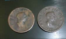 1806 - Old Great Britain Coin - Half Penny ( 2 Coins )