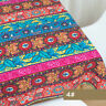 Ethnic Boho Vintage Fabric Upholstery Curtain Sofa Pillow Cushion Crafts Costume