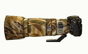 Nikon 200 500mm f5.6 ED VR Camo Neoprene lens cover Standard & Premium ranges