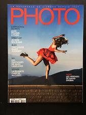 french magazine PHOTO n°521 David Drebin marc lagrange 2015