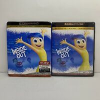 Inside Out (4K Ultra HD + Blu-ray + Digital copy) With slipcover NEW!