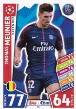 Thomas Meunier  2017-18 Topps Champions League Match Attax,Sammelkarte,#257