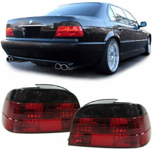 CRYSTAL SMOKED REAR LIGHTS LAMPS FOR BMW E38 7 SERIES 10/94-11/2001 MODEL 38CCL