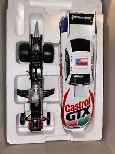 1998 Action Platinum Series John Force Castrol Mustang Funny Car Diecast 1:24