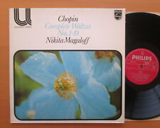 PHILIPS 6580 173 CHOPIN COMPLETE WALZER 1-19 Nikita Magaloff 1976 NM/EX STEREO