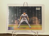 2020 Stadium Club Chrome Corey Seager Los Angeles Dodgers Card 263