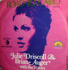 """JULIE DRISCOLL & BRIAN AUGER WITH THE TRINITY 7""""  ITALY PS 1968  SHADOWS OF YOU"""