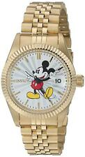 Invicta 22775 Disney Limited Edition Women's 36mm Gold-Tone Steel Silver Dial
