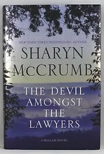 THE DEVIL AMONGST THE LAWYERS BY SHARYN McCRUMB  NY TIMES BESTSELLING AUTHOR