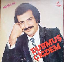 rare turkish turkey 1985 LP- durmus cigdem - beter ol - okey plak gatefold
